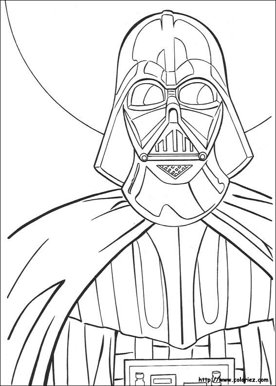 Coloriage dark vador - Coloriage de star wars lego ...