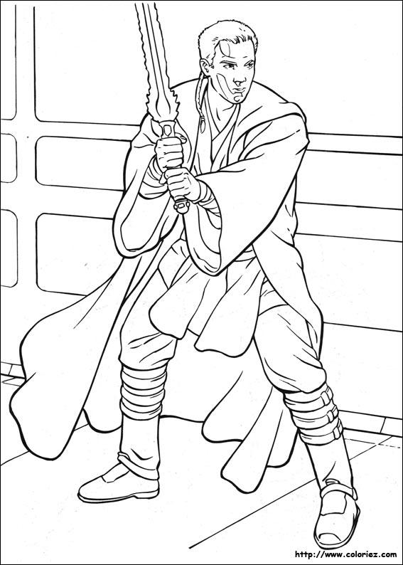 Coloriage L Apprenti Obi Wan Kenobi