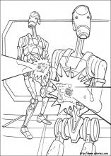 Coloriage Star Wars 48 Trade Federation Cruiser Trade Federation