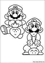Coloriage Super Mario Bros Choisis Tes Coloriages Super Mario
