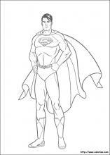Coloriage Facile Superman.Coloriage Superman Choisis Tes Coloriages Superman Sur