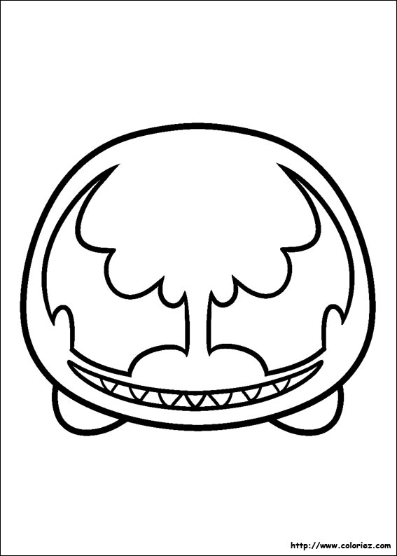 Coloriage Tsum Tsum Venom