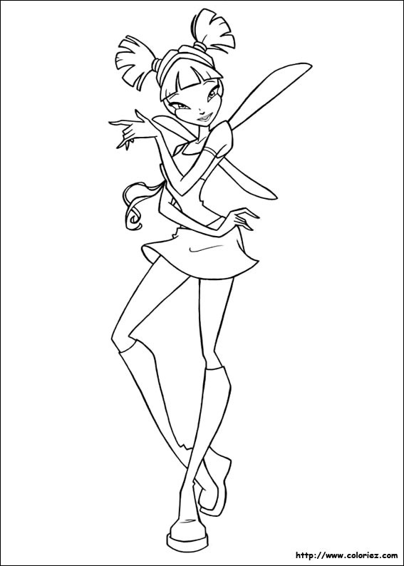Index Of Images Coloriage Winx