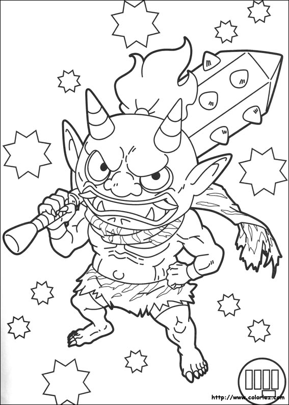 Coloriage Yokai Watch 3