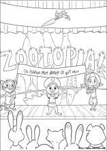 Coloriage Zootopie Choisis Tes Coloriages Zootopie Sur Coloriez Com