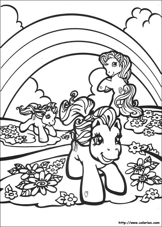 coloriage dossier=Mon petit Poney&file=mon petit poney98